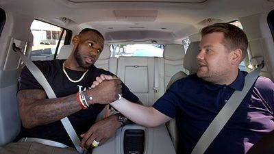 LeBron James & James Corden
