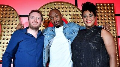 Dane Baptiste, Desiree Burch, Chris McCausland