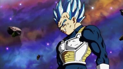 Surpass Even a God! Vegeta's Life-Risking Blow