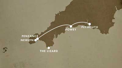 Plymouth to The Lizard