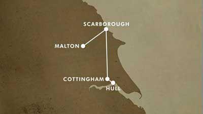 Kingston upon Hull to Malton, North Yorkshire