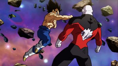 With Noble Pride to the End! Vegeta Falls!