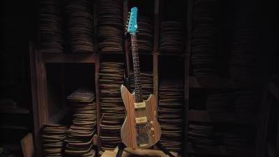 Recycled Skateboard Guitars; Solar Street Lights; Dolls