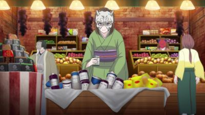 Shopping with the Nine-Tailed Young Master.