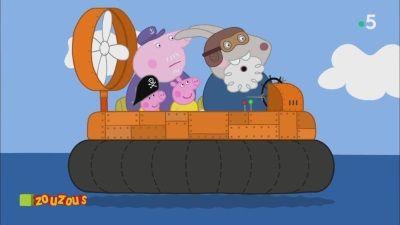 Grampy Rabbit's Hovercraft