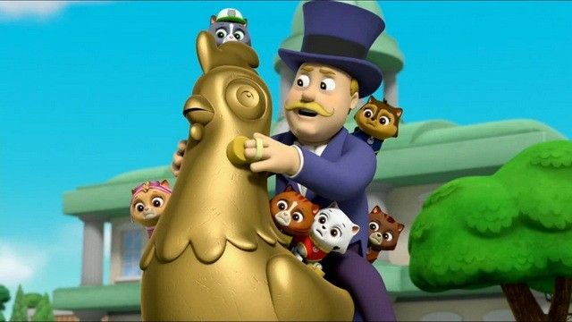 Pups Save an Underground Chicken