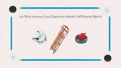 Joe Pera Answers Your Questions About Cold Weather Sports