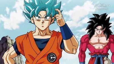 Goku vs. Goku! A Transcendent Battle Begins on the Prison Planet!