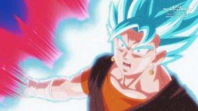 The Mightiest Radiance! Vegito Blue Kaio-ken Explodes!