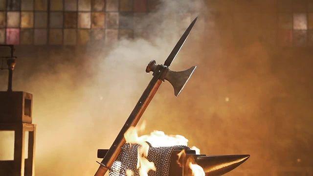 Tournament Round 3 (Blacksmiths) - The Knightly Pole Axe