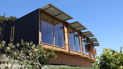 Kenepuru Sound: Pod House