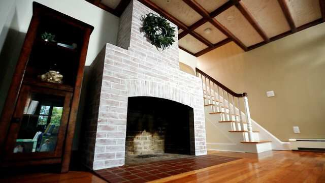 Fireplace Makeover; Drip Edges