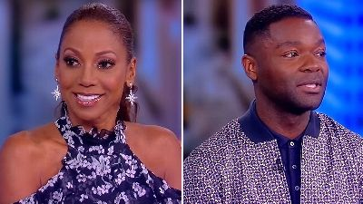 Holly Robinson Peete and David Oyelowo