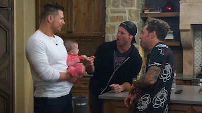 Three Dudes and a Baby