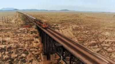 The Trains That Built America