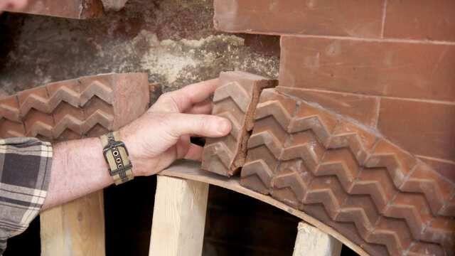 Fireplace Restoration; Porch Swing
