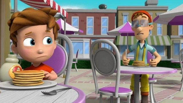 Pups Save Breakfast