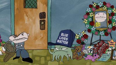 Blue Lives Battered