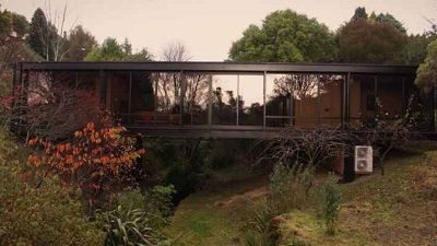 Suspended Glass House