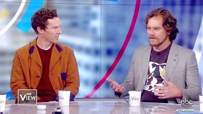 Benedict Cumberbatch and Michael Shannon