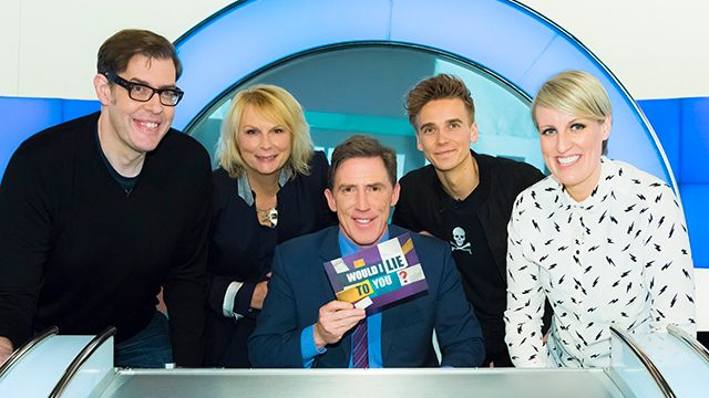 Steph McGovern, Richard Osman, Jennifer Saunders, Joe Sugg