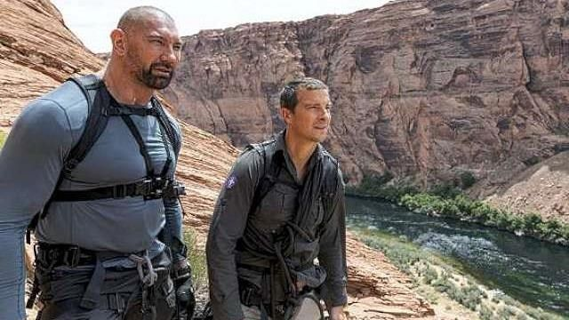 Dave Bautista in Glen Canyon, Arizona