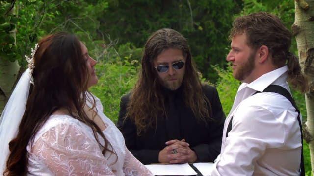A Very Bush Wedding