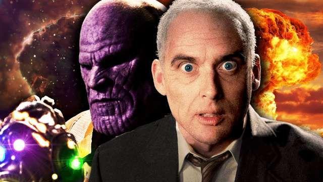 Thanos vs J Robert Oppenheimer