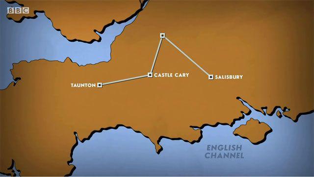 Taunton to Salisbury Plain