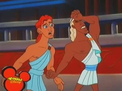 Hercules and the Prince of Thrace
