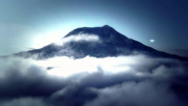 Mt. Adams UFO Encounter