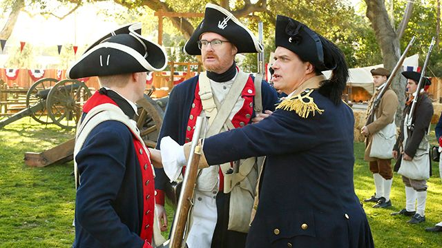 All Is Fair in Love and War Reenactment