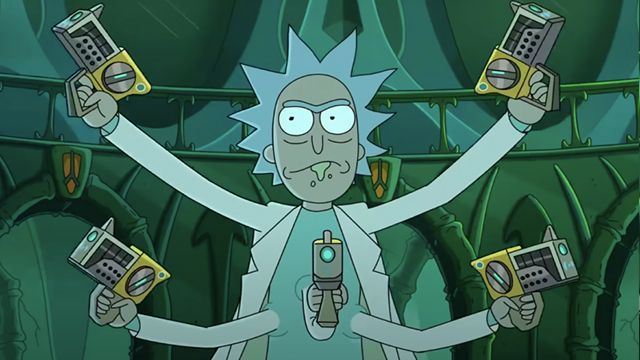 Never Ricking Morty