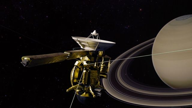 The Sacrifice of Cassini