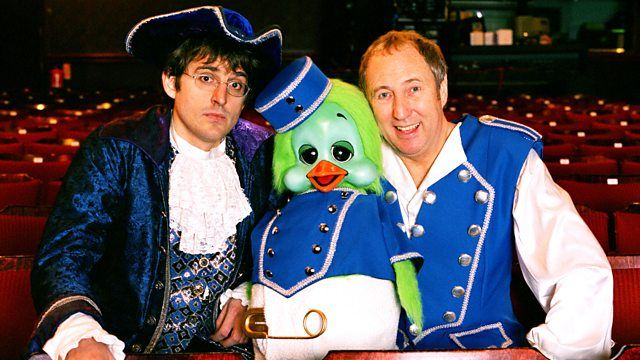 Keith Harris and Orville in Panto