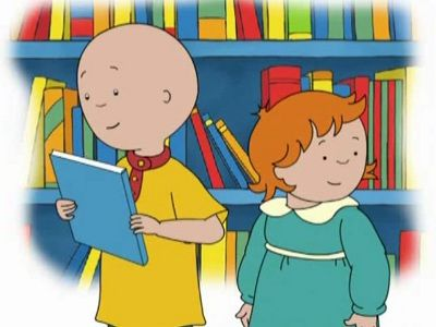 Caillou the Bookworm