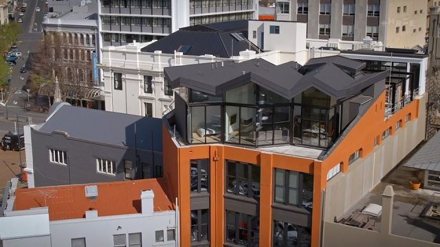 Ultramodern Rooftop Home