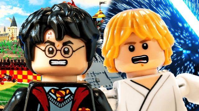 Harry Potter vs Luke Skywalker