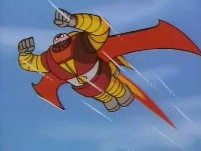 Unexpected?! Boss Robot mid-air flight