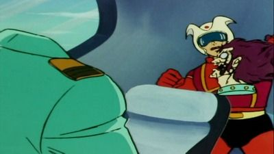 The one who crossed the Devil's hand, Mazinger Z