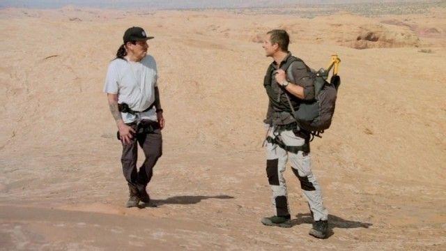 Danny Trejo in the Moab Desert