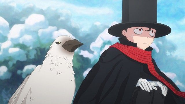 The Duke, a Crow, and Ice Skating