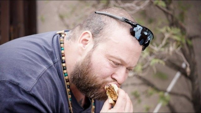 Action Bronson and the World's Strongest Lamb Burger