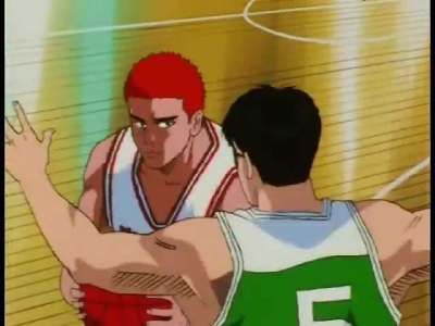The one who brought forth a miracle - Sakuragi!
