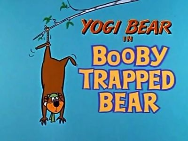 Booby Trapped Bear