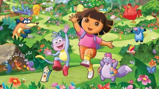 Dora's Night Light Adventure