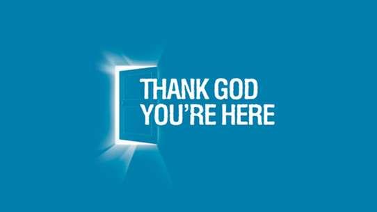 Thank God You're Here (AU)